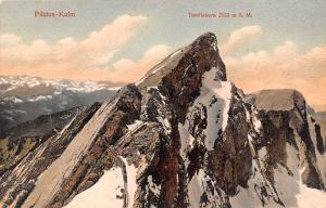 Switzerland Old Vintage Antique Post Card Pilatus Kulm Unused