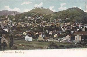 Germany Eisenach Panorama View