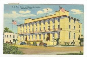 U.S. Post Office & Federal Building, Pensacola, Florida, PU-1952