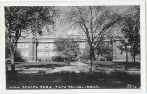 RPPC of High School Park Twin Falls Idaho ID
