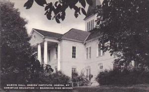 Kentucky Oneida Marvin Hall Oneida Institute Artvue