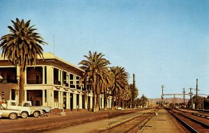 CA - Needles. Railroad Depot