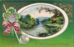 Saint Patrick's Day With Meeting Of The Waters 1911