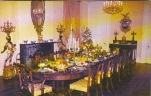 Louisiana White Castle Nottoway Plantation The Dining Room