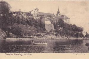 Boat, Akershus Fæstning, Kristiania, Norway,  1900-1910s