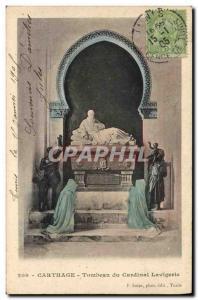 Old Postcard Tunisia Carthage Tomb of Cardinal Lavigerie