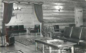 RPPC of Nooks at Buffalo Bill Lodge, Pahaska Tepee near Cody Wyoming
