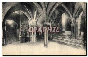 Postcard Old Badge St Sernin Basilica Crypt Corps Saints