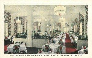 MS, Biloxi, Mississippi, Buena Vista , Rose Room, Gulfport Printing