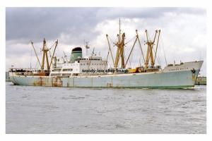 mc4240 - Nigerian Cargo Ship - Ahmadu Bello , built 1963 - photograph 6x4