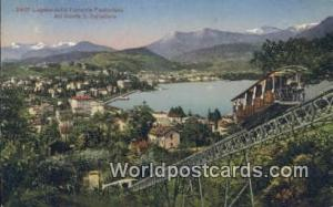 Monte S Salvatore Swizerland, Schweiz, Svizzera, Suisse Lugano Clla Ferrovia ...