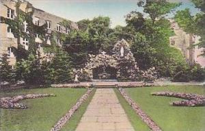 Michigan Orchard Lake Grotto S S Cyril and Methodius Seminary Handcolored Alb...