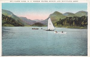 LAKE LURE, North Carolina, 00-10s; Where Water Sports And Mountains Meet
