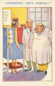 Comic Postcard Garland, Rudolf & Co. W119, Seaside Joke, Humour KK3