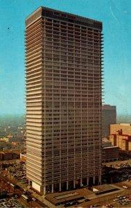 Texas Houston The Humble Building Humble Oil & Refining Company Headquarters ...