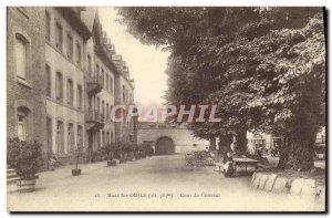 Old Postcard Mont Sainte Odile Convent Clour