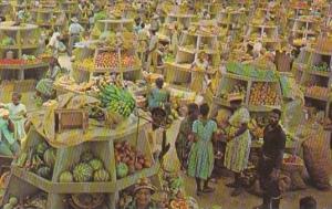 Interior Stalls Montego Bay Market Montego Bay Jamaica