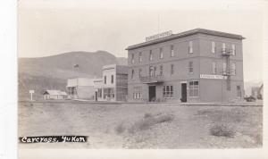 RP: Street view , Caribou Hotel , CARCROSS , Yukon , Canada , 1910s