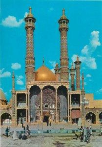 Holy Mausoleum of Hazrat Ma`sooma Qom Iran postcard