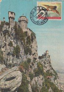 SAN MARINO , PU-1960 ; The Prescipice, Smallest Republic in the World
