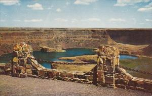 Dry Falls In North Central Washington