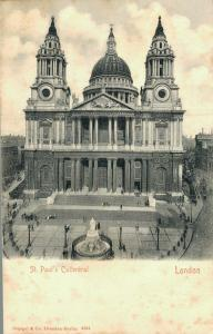 UK St Paul's Cathedral London Unposted 01.71