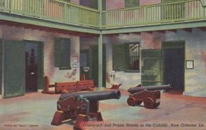 Louisiana New Orleans Courtyard and Prison Rooms In The Cabildo Curteich