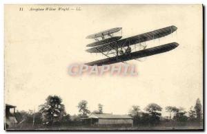 Old Postcard Jet Aviation Wilbur Wright Airplane
