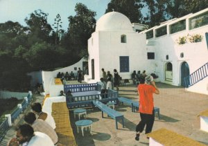 Man Picking Ear at Sidi Bou Said Tunisia Hotel Postcard