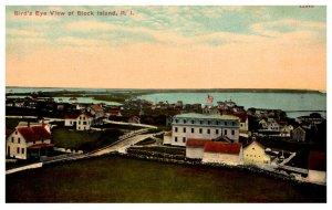 Rhode Island  Block Island  Birds Eye View