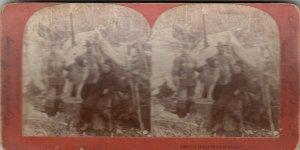 SV : Miners & a dog , Alaska , 1898 ; Gold Rush