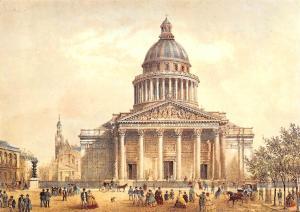 France Paris du Temps Jadis Le Pantheon