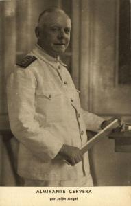 Spanish Civil War, Spanish Nationalist Admiral Cervera (1939)