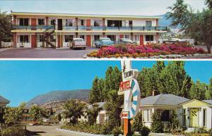 Crown Motel , Lake Okanagan , PENTICTON , B.C. , Canada , 50-60s