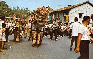 Lion Dance Singapore 1973