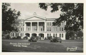 RP: UVALDE , Texas , 1930-40s ; Court House