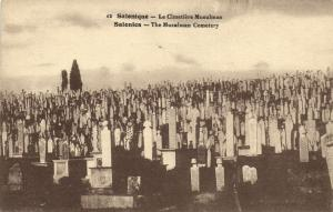 GRÉCE CPA SALONIQUE .- Le cimitiere musulman  (154610)