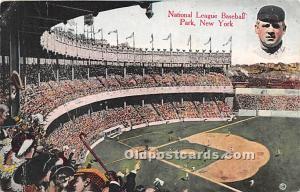 National League Baseball Park New York, NY, USA Unused
