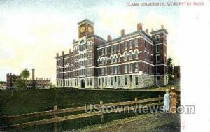 Clark University Worcester MA Unused