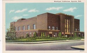 Nebraska Beatrice Municipal Auditorium Curteich
