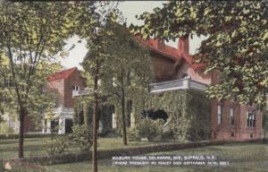 New York Buffalo Milburn Residence Where President McKinley Died 14 September...