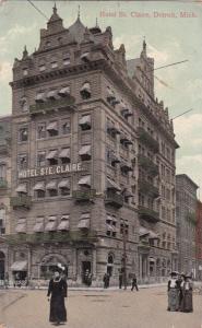 DETROIT ,  Michigan , PU-1910 ; Hotel Ste. Claire