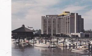 Boats Near Vancouver Airport Hyatt House, Richmond, British Columbia, Canada,...