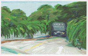 Librairie Avant Garde Nanjing China Book Shop Oil Painting Postcard