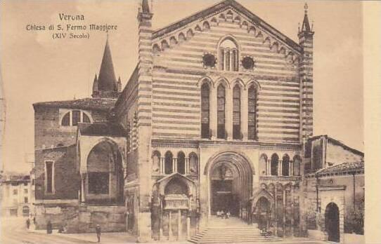 Italy Verona Chiesa di San Fermo Maggiore