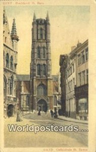 Cathedrale St Bavon Gand, Belgium Unused