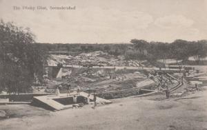 The Dhoby Ghat Secunderabad Antique Indian Postcard
