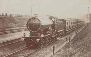 Caledonian Railway Class 0-6-0 No 245 Locomotive Publishing Scottish Train Po...