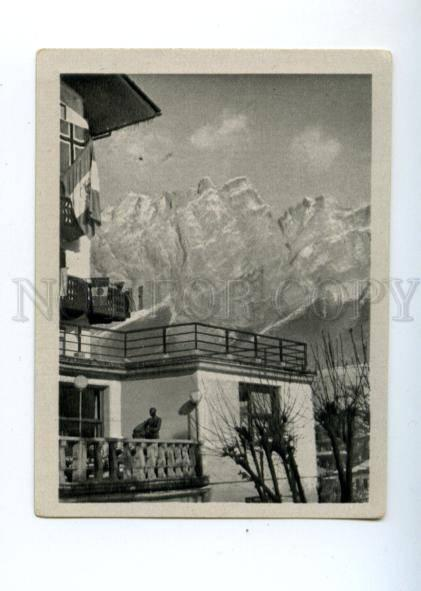 167020 Olympic Winter Games CORTINA d'Ampezzo CIGARETTE card