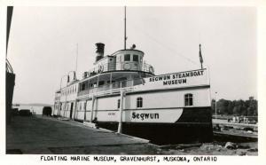 Canada - Ontario, Muskoka. Floating Marine Museum Gravenhurst  *RPPC